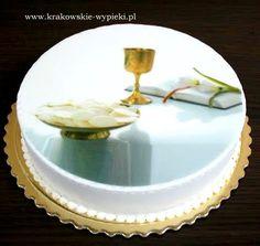 Tort na I Komunię Świętą z Cukierni Krakowskie Wypieki