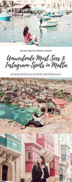 Oh my Malta. Die schönsten Must Sees & Instagram-Spots. Tolle Good-to-know-Facts und Geheimtipps. In meinem Malta Travel Guide wird eure Reise unvergesslich und einfach nur umwerfend. Photo ideas, Malta, Travel, Reisetipps, Reisen, Städtereisen, Travelblogger, Reiseblogger, reisen