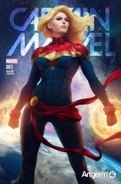 Captain Marvel Covers - Created by Stanley Lau Ms Marvel, Marvel Comics, Marvel Avengers, Marvel Girls, Comics Girls, Marvel Heroes, Marvel Women, Disney Pixar, Stanley Lau