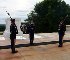 Should be on every person's bucket list.  The Tomb of the Unknown Soldier in Arlington National Cemetary in Washington DC.