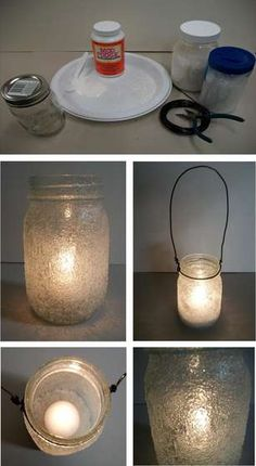 The PERFECT Southern Christmas project to combine mason jars and the magic of snow down here in Dixie