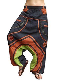 BONZAAI Harem Trousers Aladdin Pants Baggy Harem Pants pants GOA Women Baggy Hippie Rope Plaid Pants Onesize - alternative clothing - Erdreich Bonzaai http://www.amazon.co.uk/dp/B00MDUI412/ref=cm_sw_r_pi_dp_Noj0wb0N6PEQX