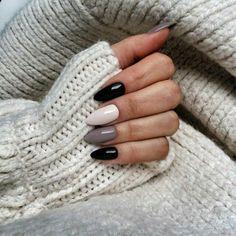 36 Trending Nail Colors Spring You Need To See - Pretty Nails - - Stylish Nails, Trendy Nails, Winter Nails, Spring Nails, Love Nails, My Nails, Maquillage Yeux Cut Crease, Nagellack Design, Cute Acrylic Nails