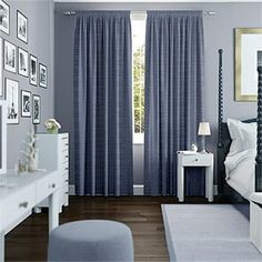 Blue Curtains 2go™ | Duck Egg, Navy Blue, Teal & More Velvet Curtains Bedroom, Navy Blue Curtains, Duck Egg Blue Lounge Room, Duck Egg Blue Bedroom, Teal Bedroom Decor, Bedroom Colors, Bedroom Ideas, Hamptons Bedroom