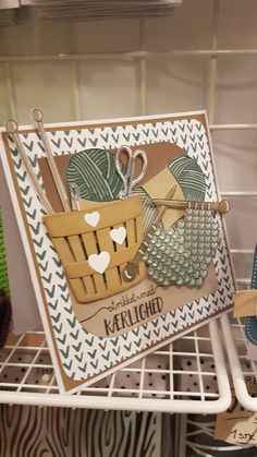 Diy And Crafts, Paper Crafts, Sewing Cards, Cricut Cards, Marianne Design, Christmas Countdown, Diy Tutorial, Knitting Patterns, Card Making