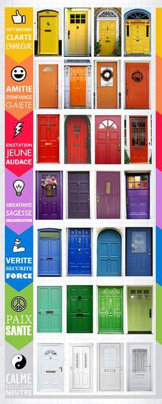 Immovlan.be   Actu Immo > La couleur de votre porte d'entrée : quelle émotion…