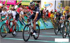 #Ciclyng #TDP2015 stage 3 @Pelucchi_Matteo @IAM_Cycling ci prende gusto 2^ volata vincente