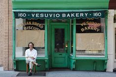 The bakery in question was already one of New York's most famous—the 89-year-old Vesuvio, a cherished remnant of a pre-Soho Soho.