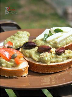 TARTINE con salsa Guacamole | cuoca nella brianza