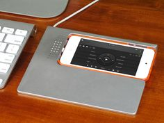 Transform your iPhone into a full media controller.  Transform Your iPhone With SketchDock. Multitouch Trackpad, Graphics Tablet, Media Control, Numberpad, Draw to Photoshop