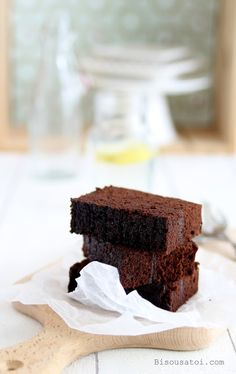 Bisous À Toi: Steamed Brownies Ny Liem Brownie Recipes, Cake Recipes, Dessert Recipes, Oven Recipes, Brownies Kukus, Resep Cake, Steamed Cake, Chocolate Muffins, Chocolate Cake