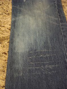 How to dye and distress your own jeans