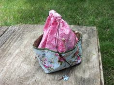 Medium  KNIT / CROCHET  Project Bag by StitchedNaturally on Etsy, $30.00