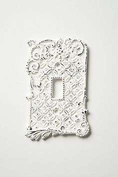 Tin Roof Switchplates, Single #anthropologie