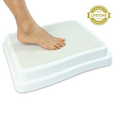 Bath Step by Vive - Safe Step Bathroom Aid for Entering & Exiting Bathtub - Nonslip Bathtub Step Reduces Risk of Injury - Vive Guarantee VIVE http://smile.amazon.com/dp/B011VJF6F2/ref=cm_sw_r_pi_dp_A.vPwb14NADEA