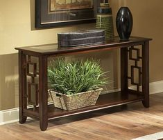 nelson industrial modern rustic console sofa table tv stand