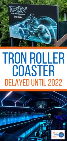 If you have been looking forward to Disney's Tron roller coaster opening at Disney World, then you need to read this! Ziggy Knows Disney has the latest news about why the Tron lightcycle run roller coaster is being delayed, along with details about the attraction. Read here for more information! Disney World Secrets, Disney World News, Disney World Rides, Disney World Parks, Walt Disney World Vacations, Disney Resorts, Disney World Tips And Tricks, Disney Travel, Disney On A Budget