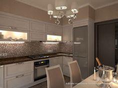 Оттенки пудры, Дизайн-студия Елены Пономаренко Vitta-Group, Кухня, Дизайн интерьеров Formo.ua