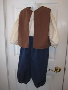 Colonial Day Costumes for Boys | Colonial Patriot Boy Costume pants shirt vest Early American Pioneer & Ideas for dressing like Colonial Americans! You can also use ...