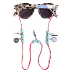 Sunnycords® are modern eyewear chains for your sunglasses. The Sunnycord® is a fashionable lanyard for holding any kind of eyewear. Initially designed to never lose you glasses or reading glasses again. Shop your sunglass straps now online! Cute Sunglasses, Sunglasses Women, Sunglasses Holder, Beaded Jewelry Designs, Handmade Jewelry, I Love Jewelry, Jewelry Making, Eyeglass Holder, Sunglass Frames