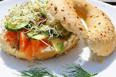 Bagel Saumon Aneth Concombre