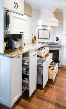 maximizing space with drawers