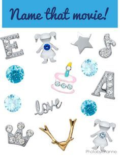 Origami Owl Name That Movie! game. Answer: Frozen. Follow CINDY CAZARES on FB! https://www.facebook.com/hellociindycharms