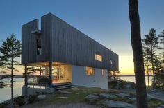 revestimiento Bridge House / Mackay-Lyons Sweetapple Architects