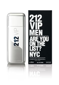 6894ce81ec4 Carolina Herrera 212 VIP Eau De Toilette for Men Welcome to the world of  212 VIP Men. a world of charisma and elegance. With unique harmonies of  Lime Caviar ...