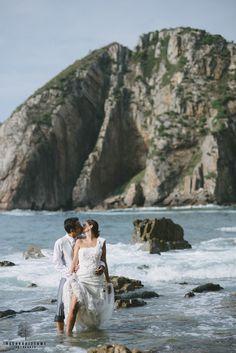 www.oscarruiztome.com Posboda Liber y Dani, Playa del Silencio, Asturias