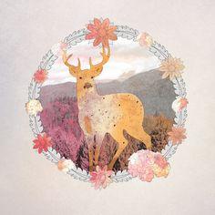 FLORA & FAUNA Art Print - Nika Designs