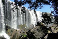 Cachoeira do S em Cambará do Sul, estado do Rio Grande do Sul, Brasil.   ♥♥