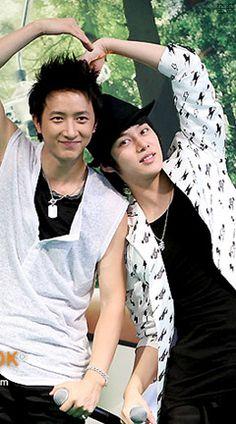 SUPER JUNIOR   HanChul Han Geng/Hankyung and Kim Heechul/Heenim