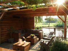 Outdoor Life, Outdoor Decor, Garden Design Plans, Backyard, Patio, Cosy, Playroom, Pergola, Interior Design