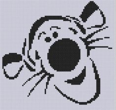 Tigger Cross Stitch ... by bracefacepatterns | Embroidery Pattern - Looking for your next project? You're going to love Tigger Cross Stitch Pattern by designer bracefacepatterns. - via @Craftsy