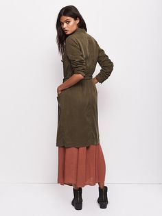 Sensual Military Duster from Free People!