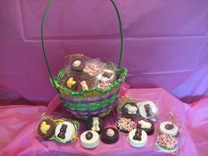 Chocolate Easter Cookies made by my mom!