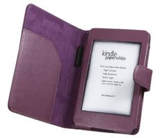 iTALKonline PadWear PURPLE Executive BOOK Wallet Case Cover Shield Slot with Stylus Pen Holder for New Kindle Paperwhite / Kindle Paperwhite 3G (Kindle 5 Launched Oct 2012) with Built-in Magnet for Auto Wake Function by iTALKonline. $11.31. Executive Wallet Cases are stylish, compact and provide high quality protection for your Kindle. The executive wallets not only keep your Kindle safe, they also provide you with a fashionable alternative to other cases.