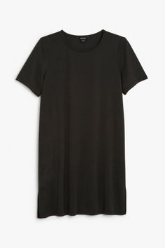 Monki Image 2 of T-shirt dress in Black