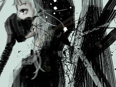 Vocaloid Gumi http://wallpaperswa.com/Colors/Grey/abstract_vocaloid_gas_masks_short_hair_masks_hoodie_megpoid_gumi_gray_eyes_white_hair_polychromatic_32452/download_2560x1920 https://www.youtube.com/watch?v=TQ2DF_Qsgp4