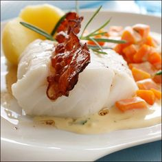 #food #fish cod #carrot