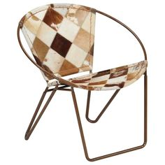 Gabriel Tub Chair Alpen Home Upholstery Colour: Brown/White, Leg Colour: Brown Old Chairs, Metal Chairs, Outdoor Chairs, Dining Chairs, Brown Leather Armchair, Leather Recliner Chair, Pink Desk Chair, Tub Chair, Vintage Leather