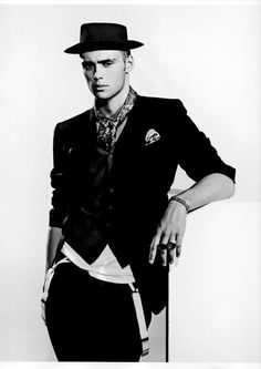 Claude & Louis Simonon Get Dapper for Supernormal in Arena Homme Plus #punk #fashion trendhunter.com