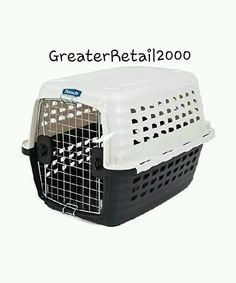 Plastic Kennel Travel Pet Crate Carrier Small Breed Animals Dog Cat Pet Supplies #Petmate
