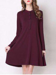Stylish Sequins Off The Shoulder Long Sleeve Dress For Women (GOLDEN,S) | Sammydress.com Mobile