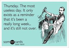 The longest week ever!