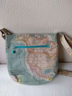 World map crossover body style bag £20.00