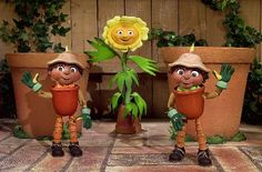 Bill and Ben, the flowerpot men! Loved this as a kid growing up in England