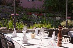 Oberes Triemli: Im Sommer lockt eine gemütlich Terrasse mit Biotop.