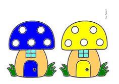 Peuterthema's: Piepklein Kaboutertje Autumn Nature, Nature Crafts, Autumn Theme, Preschool Activities, Gnomes, Painted Rocks, Fairy Tales, Wonderland, Stuffed Mushrooms